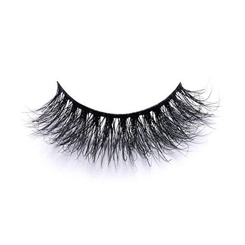 9f15c1205b6 3D Mink Eyelashes Strip Natural Look Mink Lashes Long Thick Thin Band False  Eyelashes by LANKIZ