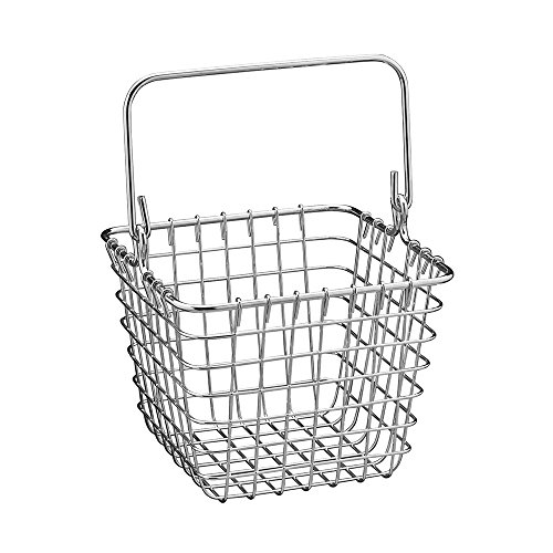 spectrum diversified wire storage basket  small  chrome