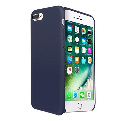 iPhone 8 plus case, Moleboxes iPhone 7 plus case Silicone Slim Fit Rugged Case Heavy