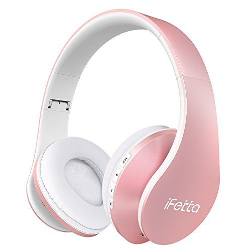 Headphones bluetooth charger 5v-1a - rose gold bluetooth foldable headphones